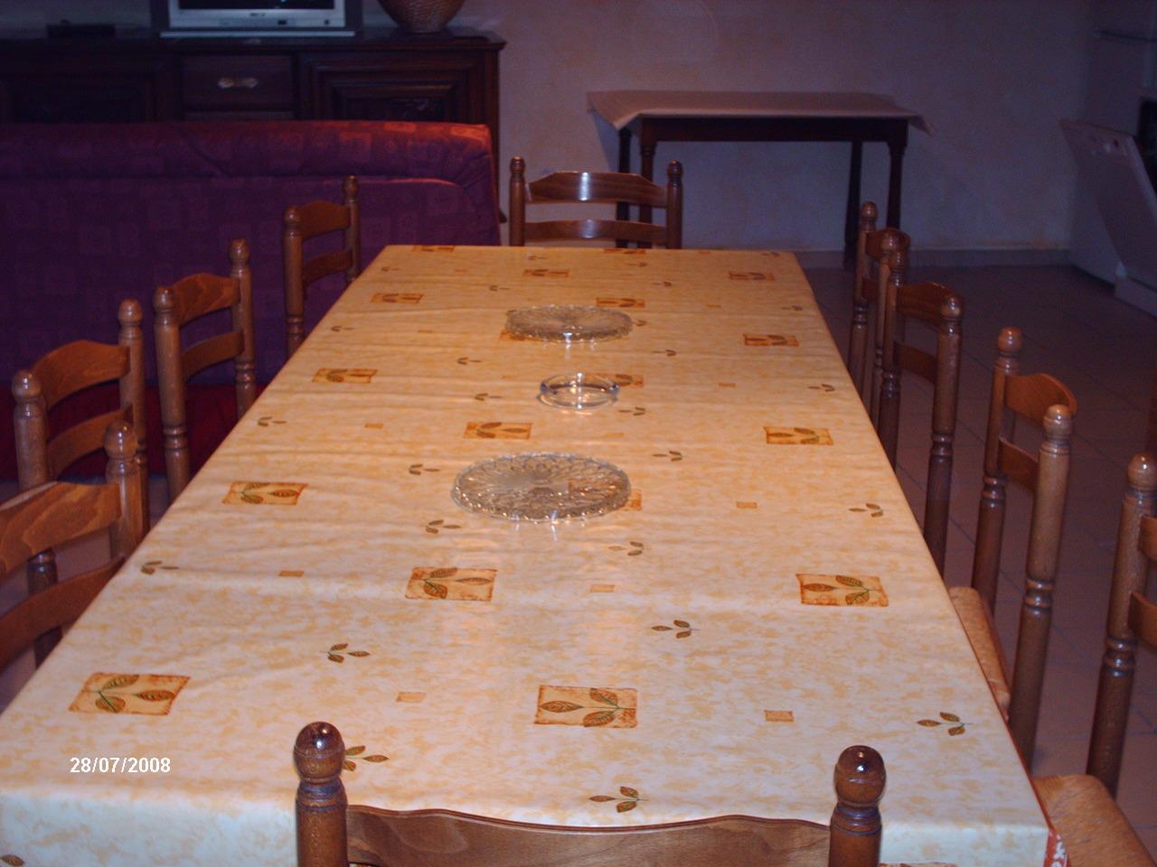 photo table sejour